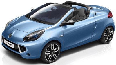 Voici les premières images de la Twingo CC, ou Renault Wind..